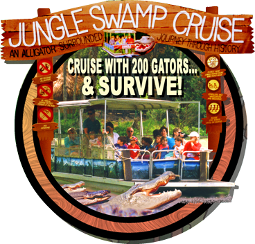 Jungle Swamp Queen River Boat